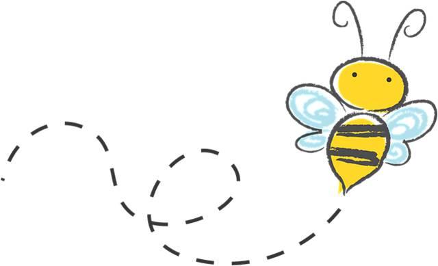 Dibujo de una abeja