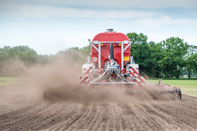 Aplicación de agroquímicos en campo